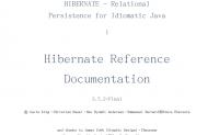 Hibernate3.5.2中文开发API文档 免费资源下载地址