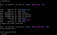 "启动mysql时,提示""Another MySQL daemon already running with the same unix socket.""解决方法"